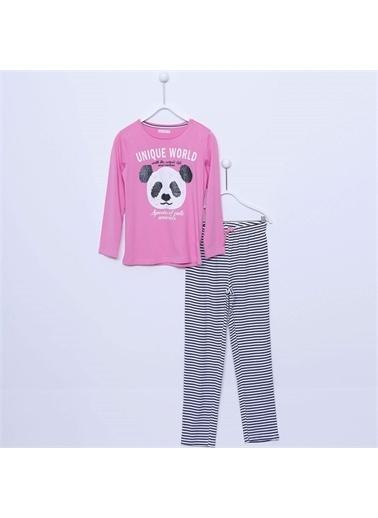 Silversun Kids Kız Çocuk Baskılı Pijama Takım - !Pjm 312976 Lila
